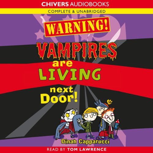 Warning! Vampires are Living Next Door! cover art