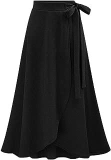 【春服先取り】 SUN BROSE(サン ブローゼ) スカート ラップスカート フレア マキシ丈 プリーツ レディース