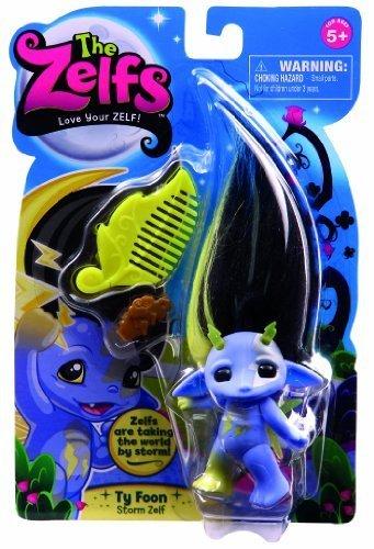 Zelfs, Medium Doll Series 3, Ty Foon (Storm Zelf) by ZELFS