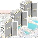 Citrato de potasio natural 750 mg | Extraído del Mar Muerto | Sin OMG y 100% vegano | para la...