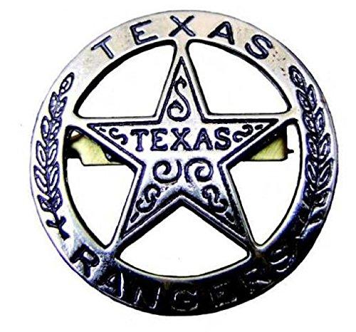 Denix Texasranger Stern grau Badge Sheriff Cowboy Western