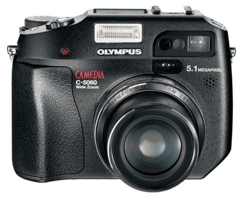 Olympus Camedia C-5060 5.1 MP Digital Camera w/4x Optical Zoom
