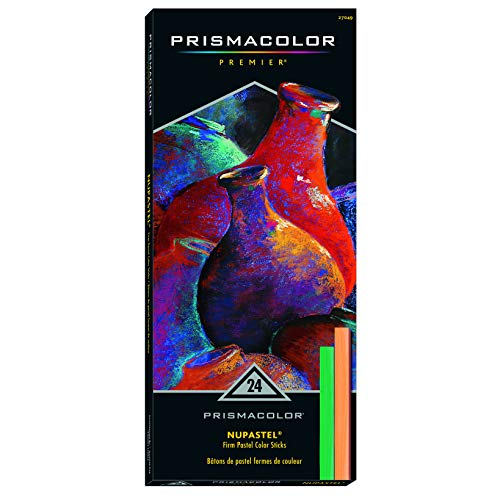 Prismacolor Set, 24-Colors Nupastels, Count