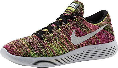 Nike Men's Lunarepic Low Flyknit Oc Multi-Color/Ankle-High Running Shoe - 9M