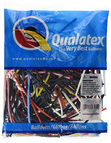 Qualatex 43915 Luftballons, mehrfarbig