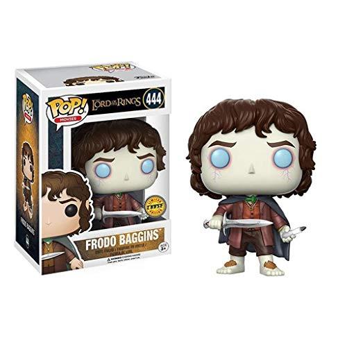 Luck7DZ Señor de los Anillos: Frodo x Pop!PVC Estilo de la película Exquisita Figura Coleccionable, Multicolor - 3.9Inch