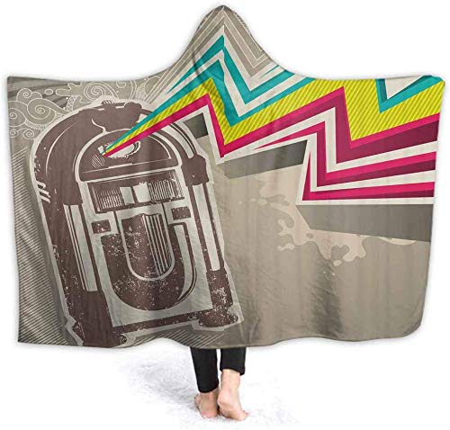 IUJL Manta Capucha Hooded Blanket Radio