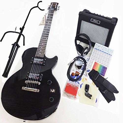 エピフォン レスポール Epiphone Les Paul Special II Plus Top T-BLK レスポール スペシャルII プラストップ エレキギター 初心者 入門15点セット
