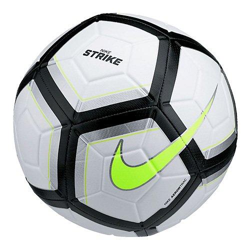 Nike Unisex – Erwachsene NK Strk Team Ball,Mehrfarbig (weiß/silber/schwarz/Volt), 5