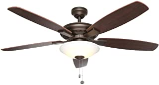 Menage 52 in. Integrated LED Indoor Oil Rubbed Bronze Ceiling Fan