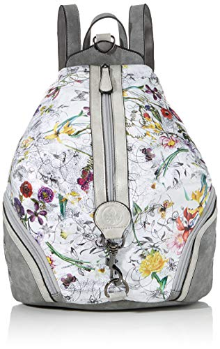 Rieker Damen Rucksackhandtasche H1054, Mehrfarbig (Ice-Multi/grau/Frost), 400x160x330 cm