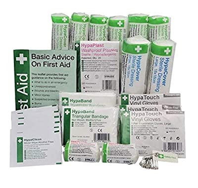 Safety First Aid HSE Kit Refill (1-10 Persons) by Safety First Aid