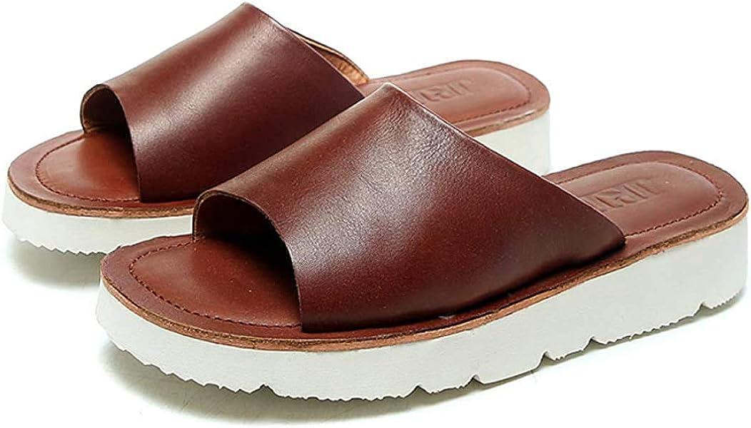 Womens Beach 2021 Wedge Mule Sandal Slide Fashion Platform Breathable Max 59% OFF