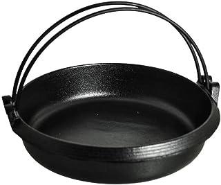 Japanese Cast Iron Sukiyaki Pan, 11.00 (DIA.) x 2.50 Inches (HIGH), 9 Cups