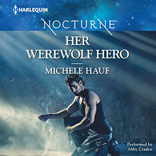 Her Werewolf Hero audiobook cover art