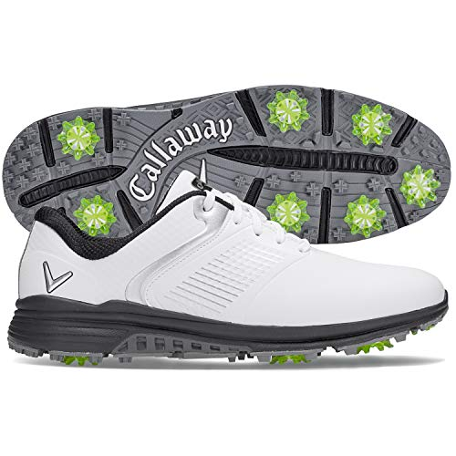 Callaway Men's Solana TRX Golf Shoes, White, 9, D