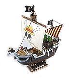 One Piece - Modelo de juguete montado, diseño de barco de mar Going Merry