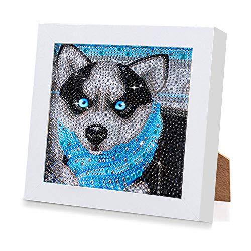 5D Diamante Pintura Kits, DIY Diamond Painting Kit Completo Completo, Kit Punto de Cruz Diamantebordado Punto de Cruz Diamante Manualidades Hogar Decoracion Salon