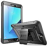 Supcase Samsung Galaxy Tab S3 9.7 Hülle Unicorn Beetle PRO Ganzkörper Hülle Robust Schutzhülle Schlagfest Cover, Schwarz