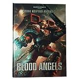 Warhammer 41-01 ADEPTUS ASTARTES Blood Angels Libro 40,000 Serie Codex Soporte para juegos de mesa...