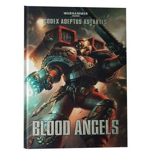 Warhammer 41-01 ADEPTUS ASTARTES Blood Angels Libro 40,000 Serie Codex Soporte para juegos de mesa