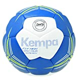 Kempa Fly High Spectrum Synergy Primo Ballon de Handball Mixte Enfant, Bleu Roi/Blanc, Taille 1