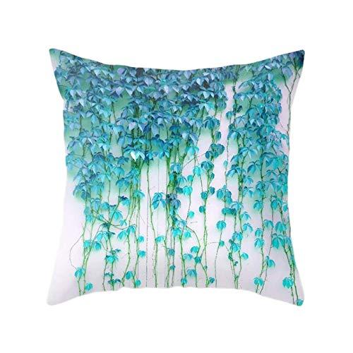 YLLAND Funda de cojín nórdico simple decorativo para sofá, sala de estar, cojines de 45,7 cm LNNDE