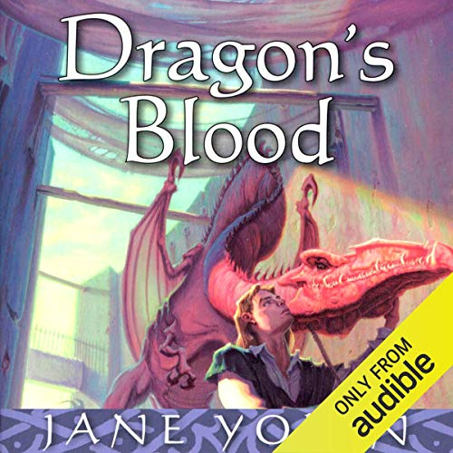 Dragon's Blood audiobook cover art