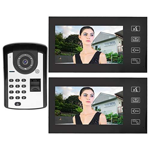 Anti-oxidación de la alta confiabilidad del teléfono video de la puerta de(European standard (110-240V))