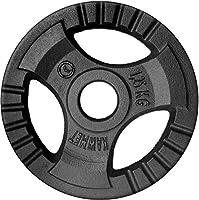 Gietijzeren Halterschijven KAWMET Tri-Grip 30,5mm - 1,25kg, 2,5kg, 5kg, 10kg, 20kg en Halterschijvenset