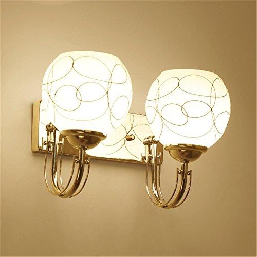 Applique Moderne Simple LED Lampe de Chevet Creative Chambre Salon Restaurant Salle D'étude Escalier Allée Hôtel Décoration Mur Lumière, G
