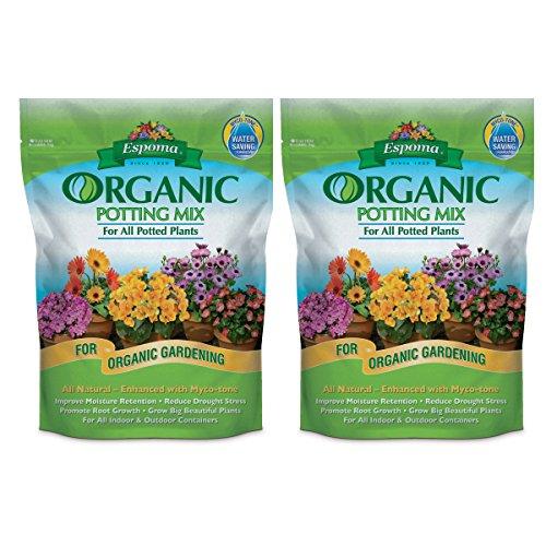 Espoma AP16 16-Quart Organic Potting Mix (2)