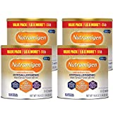 Enfamil Nutramigen Baby Formula, Hypoallergenic, Lactose Free Formula with Enflora LGG, Fast Relief from Severe Crying and Colic, DHA for Brain Support, Powder Can, 19.8 Oz (Pack of 4) Total 72.9 Oz
