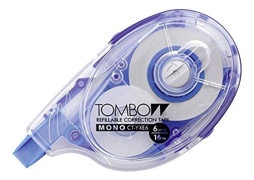Tombow CT-YXE6 - Cinta correctora recargable, extra larga, 6 mm x 16 m, en blíster (5 unidades)