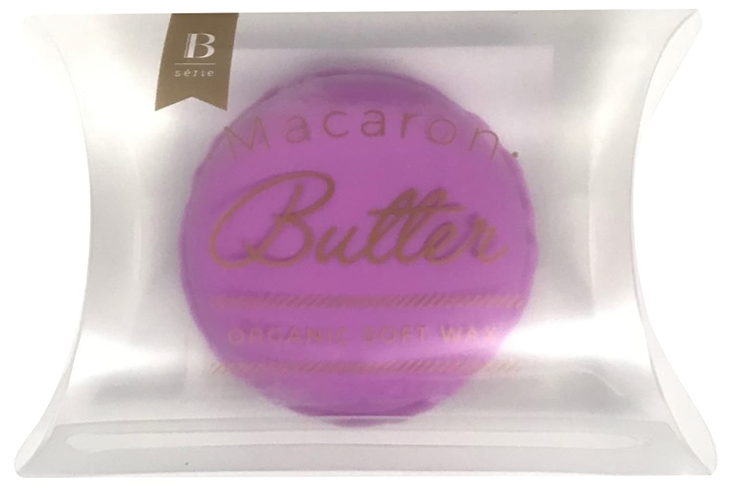 りんご柔らかいシャープビーセーリエ マカロンバター V ラベンダー & バニラ 20g