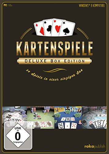 Kartenspiele - Deluxe Box Edition 20 in 1 (PC)