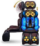 Mopoq Máquina de Masaje de Cuello, cojín de Asiento de Masaje de Espalda de Cuello shiatsu, masajeador de Espalda Profunda de Rodilla Adecuado para automóvil, Uso doméstico o de Oficina