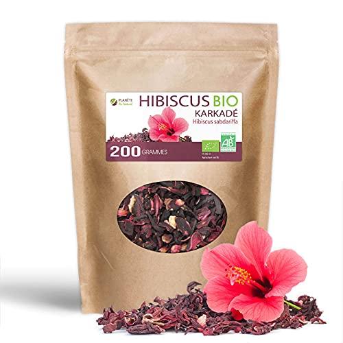 Fleurs d'Hibiscus Bio - 200 g - Karkadé