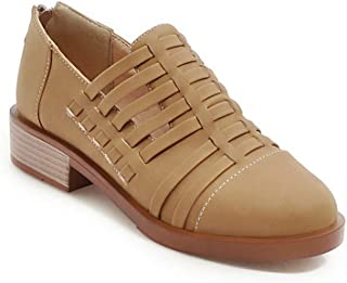 BalaMasa Womens APL11738 Pu Block Heels