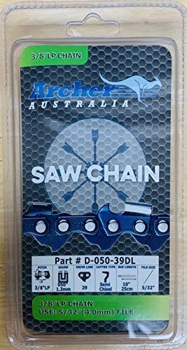 "Archer 10"" Chainsaw Saw Chain Remington 108526-01 106890-02 Pole Saw Pruner S39"
