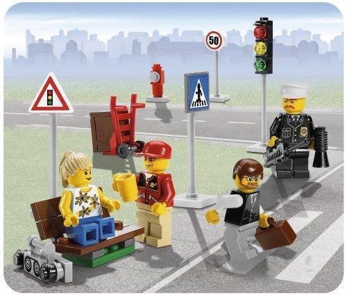 LEGO City 8401 - Minifiguren und Straßenschilder