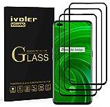 ivoler 3 Unidades Protector de Pantalla para OPPO Realme X50 Pro 5G, [Cobertura Completa] Cristal Vidrio Templado Premium, [Dureza 9H] [Anti-Arañazos] [Sin Burbujas]