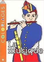 Coloriages La musique