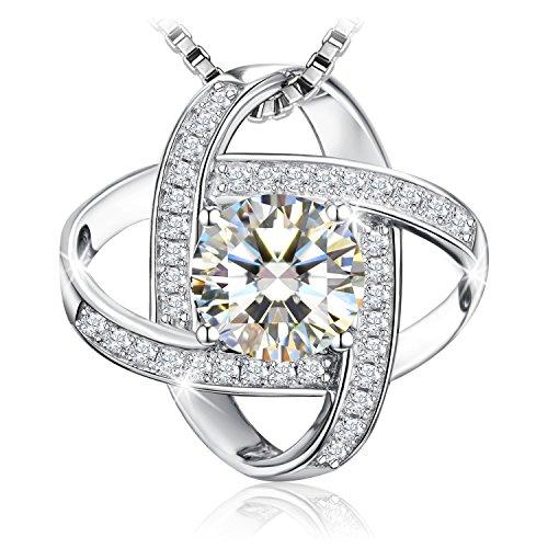 Earrings Sterling Silver Cubic Zirconia Stud Earrrings J.Rosée Jewelry for Women