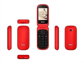 موبايل سيكو سينيور - 2G - احمر