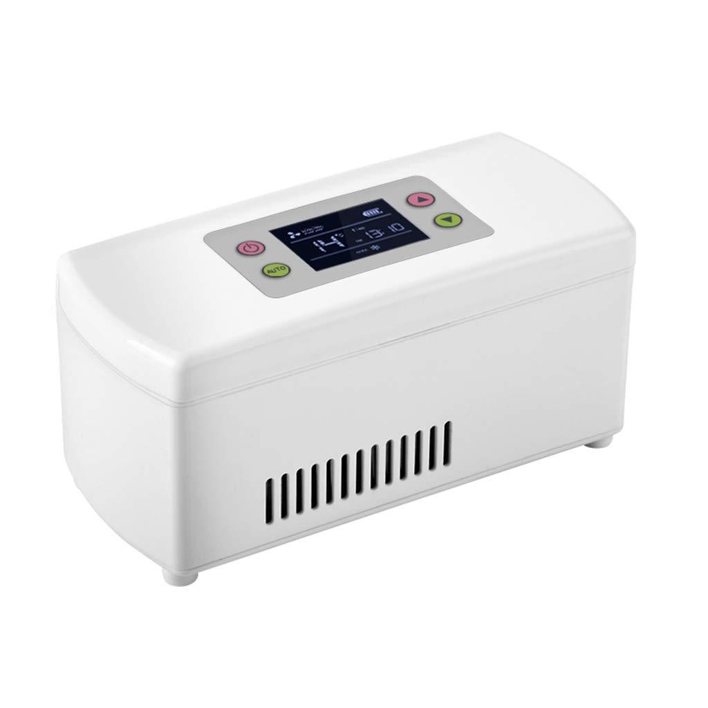 FAPROL Nevera Insulina Refrigerador Portátil De La Hormona del Crecimiento Aguja De Insulina Estuche De Viaje USB De Carga: Amazon.es: Deportes y aire libre