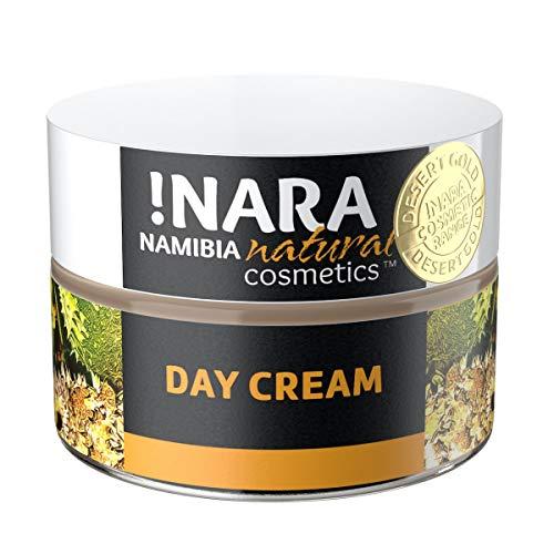 !Nara Naturkosmetik Tagescreme 50 ml reichhaltige Gesichtscreme gegen Rötungen für trockene empfindliche Haut mit beruhigender entzündungshemmender Wirkung - parabenfrei
