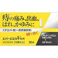 【指定第2類医薬品】エバージエルV坐剤 30個 ×2