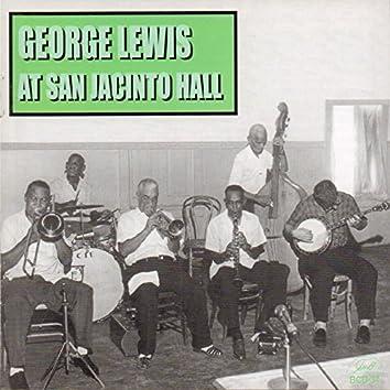 George Lewis at San Jacinto Hall