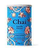 Nordic Roast | Chai Latte | Vanilla Dream | 398g | Mezcla de Chai Latte Instantáneo en Polvo | Té Negro Especiado con leche | para tu Hogar, Café, Restaurante | 15 Tazas